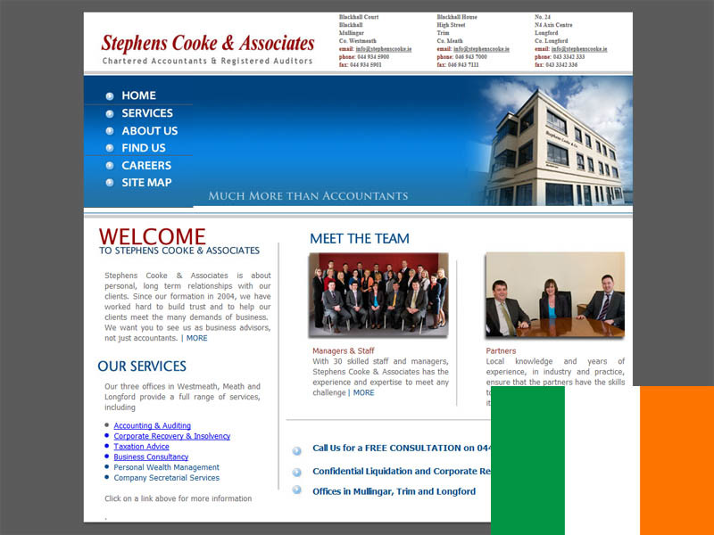 Partner Stephens Cooke & Co.